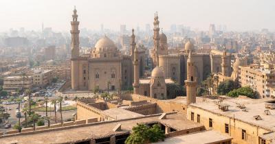Al-Azhar-Moschee - Aussenansicht