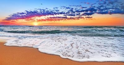 St. Martin - Blick auf das Meer