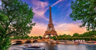 Paris - Blick auf dem Eiffelturm