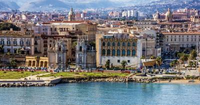 Palermo - Blick auf die Stadt