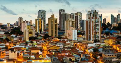 Sao Paulo - Sonnenuntergang über Sao Paulo
