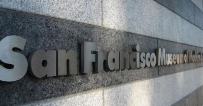 San Francisco Museum of Modern Art - Schriftzug