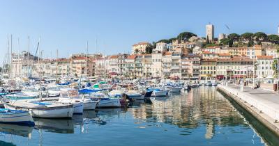 Cannes - Hafen von Cannes