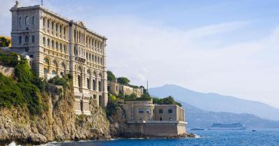 Ozeanographisches Museum von Monaco - Aussenansicht