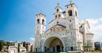 Podgorica - Aussenansicht der Kathedrale