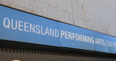 Kulturzentrum Queensland - Schriftzug