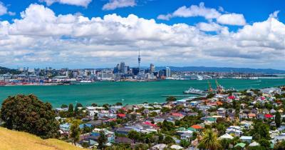 Auckland - Blick auf die Stadt