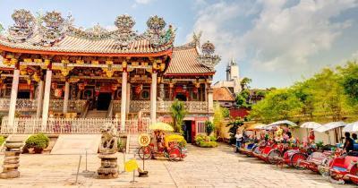 George Town / Penang in Malaysia