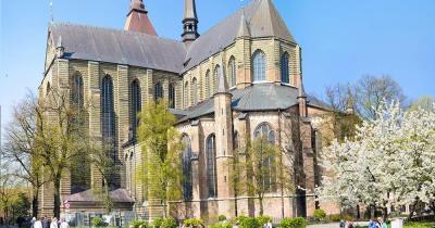 Marienkirche Rostock / Marienkirche von vorne