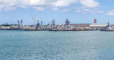 Pearl Harbor / Schiffe in Pearl Harbor