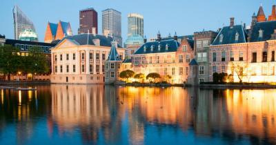 Den Haag - Blick auf den Binnenhof