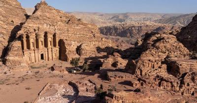 Petra / Blick auf Petra