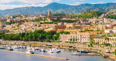 Messina / Luftaufnahme von Messina