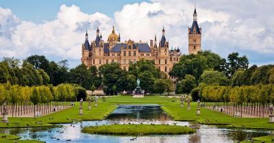Schwerin / das Schloss in Schwerin