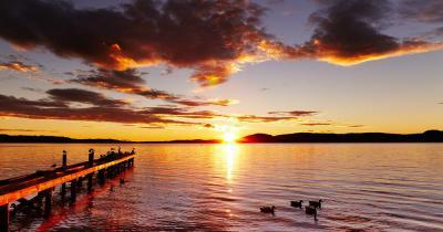 Rotorua / der Lake Rotorua