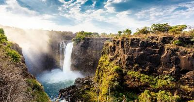 Simbabwe - die Viktoriafälle in Simbabwe
