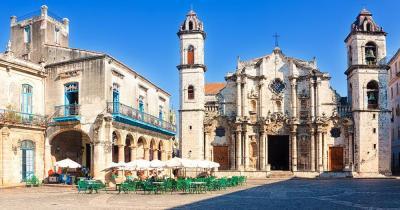 Plaza de la Catedral - Plaza de la Catedral in Havanna