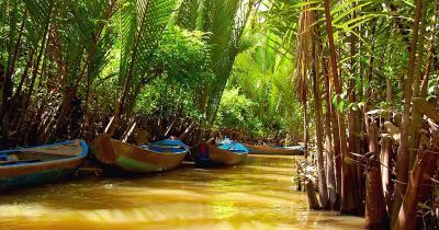 Mekong-Delta - das Mekong-Delta