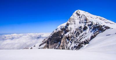 Aletsch - Arena - Blick auf das Jungfraujoch