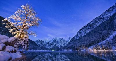 Tiroler Zugspitzarena - Winter am Plansee