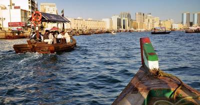 Bootstour Dubai Creek - Dau als Fährboot