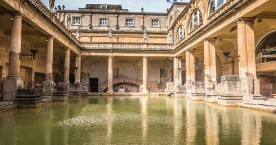 Bath - medieval thermal baths