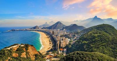Rio de Janeiro - Ipanema with rainforest
