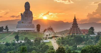 Chiang Rai - Wat Hyua Pla Kang Temple