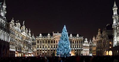 Weihnachtsmarkt Brüssel - Weihnachtsmarkt am Grand Place