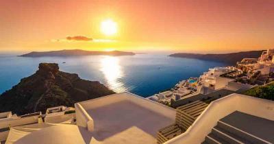 Santorini - At dusk