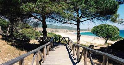 Costa de la Luz - Wooden jetty