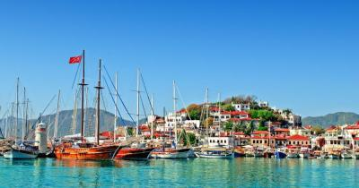 Marmaris - View of the port