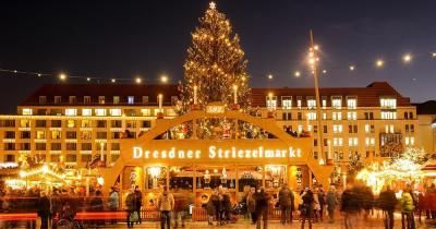 Weihnachtsmarkt Dresden -  Dresdner Striezelmarkt