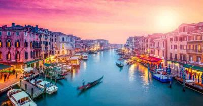 Venedig - Bei Sonnenuntergang