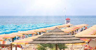 Jesolo - Strand und Meer