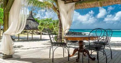 Mauritius - Blick auf das traumhafte Meer