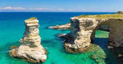 Apulien - Traumhafter Ausblick auf die Insel
