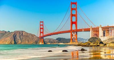 San Francisco - die Golden Gate Bridge