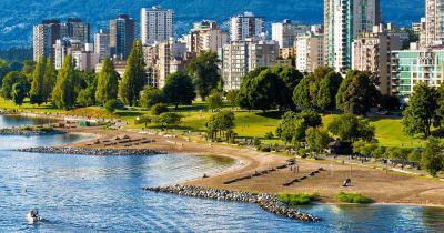 Vancouver - Der Strand von Vancouver