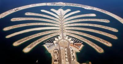 The Palm Jumeirah - Blick von oben