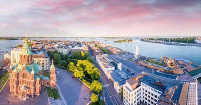 Helsinki - Sonnenaufgang in Helsinki