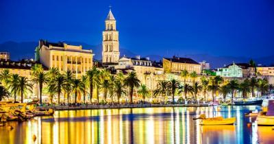 Split - Blick auf die Stadt