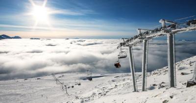 Whistler-Blackcomb - Blick auf den Skilift