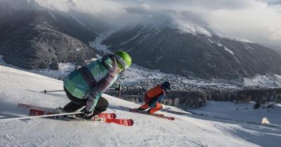 Davos - Abfahrt in Tal