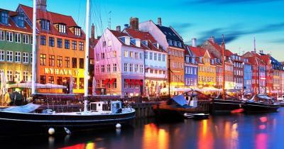 Kopenhagen - Abend in Nyhaven