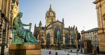 Edinburgh - die historische Royal Mile von Edinburgh