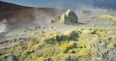 Liparische Inseln - Gran Cratere Vulkan
