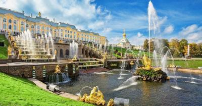 Sankt Petersburg - Die großen Springbrunnen von Pertergof
