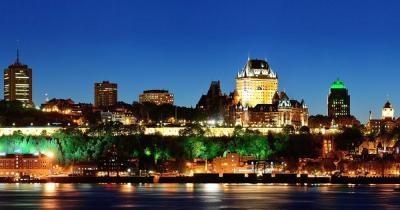 Quebec - Nächtliche Flußfahrt