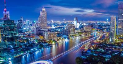 Bangkok - Skyline der City
